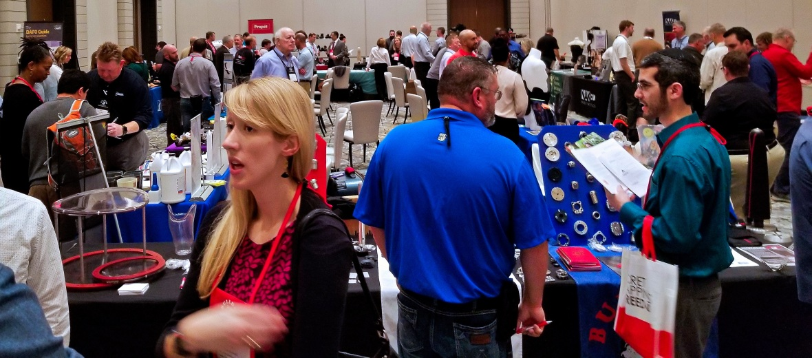Exhibit Hall - Busy 2